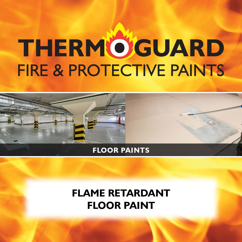 Fire Retardant Flooring : Floor paints products thermoguard uk