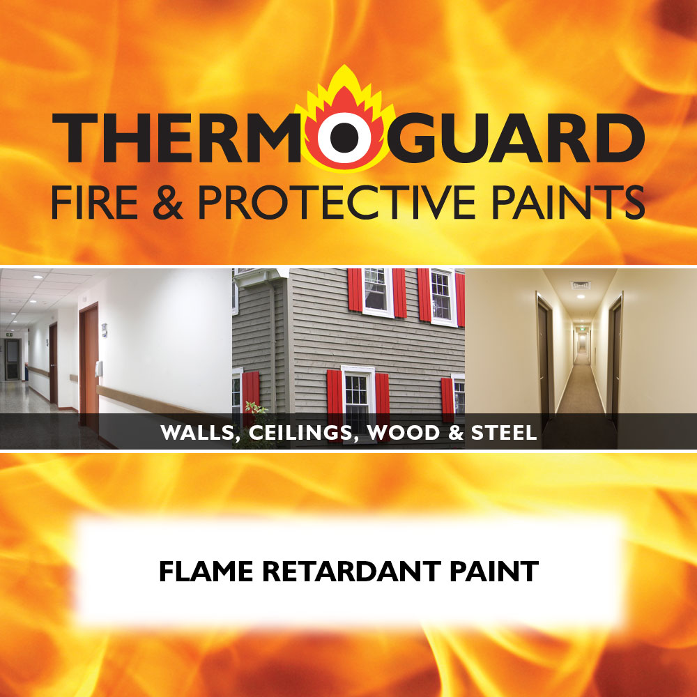 Fire Resistant Paint : Flame retardant paint thermoguard uk products